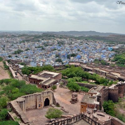 La ville bleue de l'Inde
